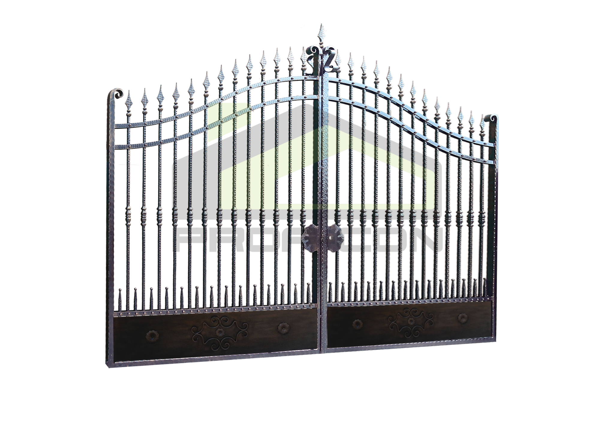 Wrought iron gates PF 003
