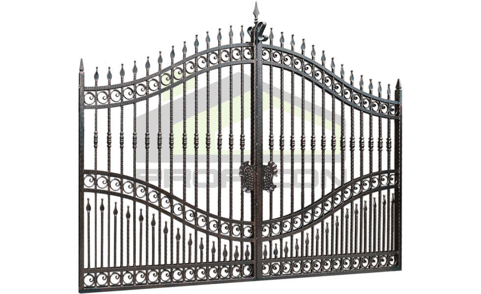 Wrought iron gate PF 001