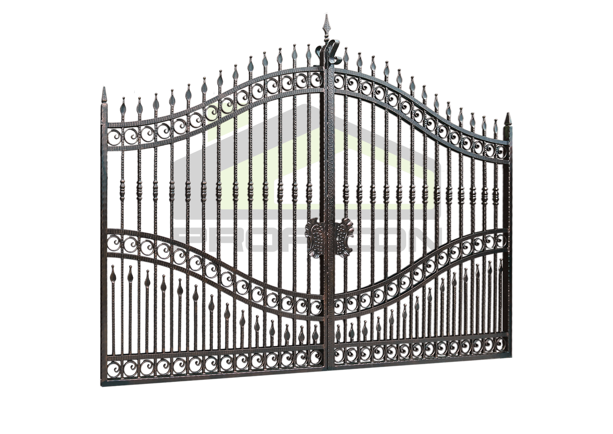 Wrought iron gates PF 001