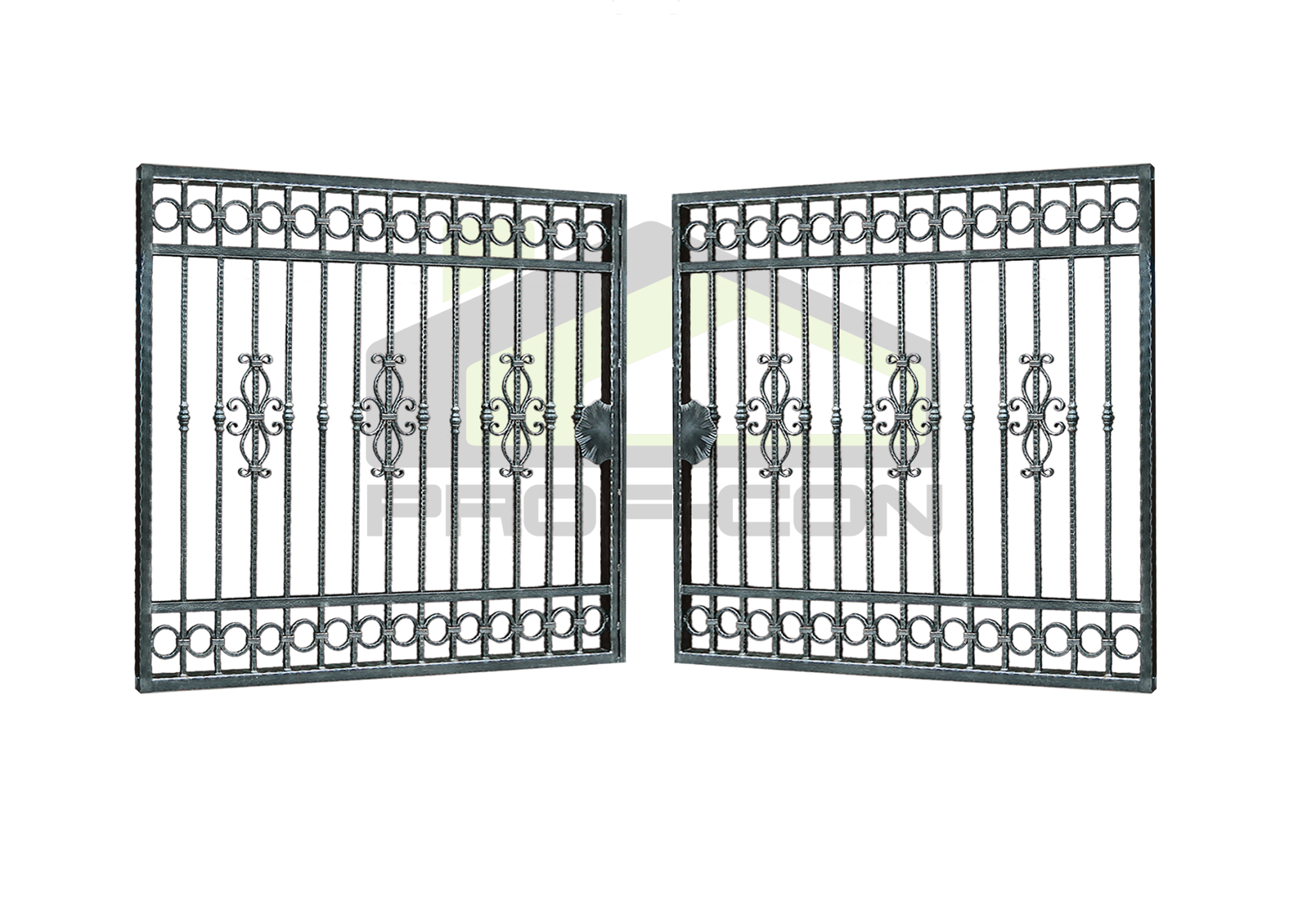 Wrought iron gates PF 008