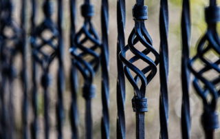 How to keep wrought iron