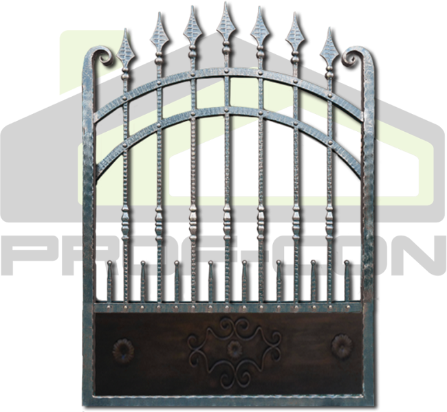 Wrought iron fence PF 003