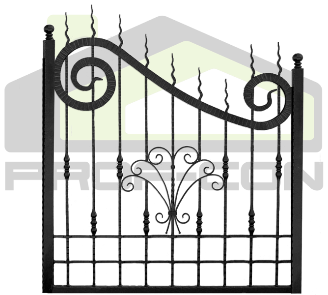Wrought iron fence PF 002