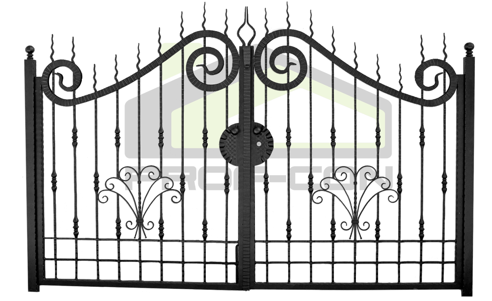 Wrought iron gate PF 002