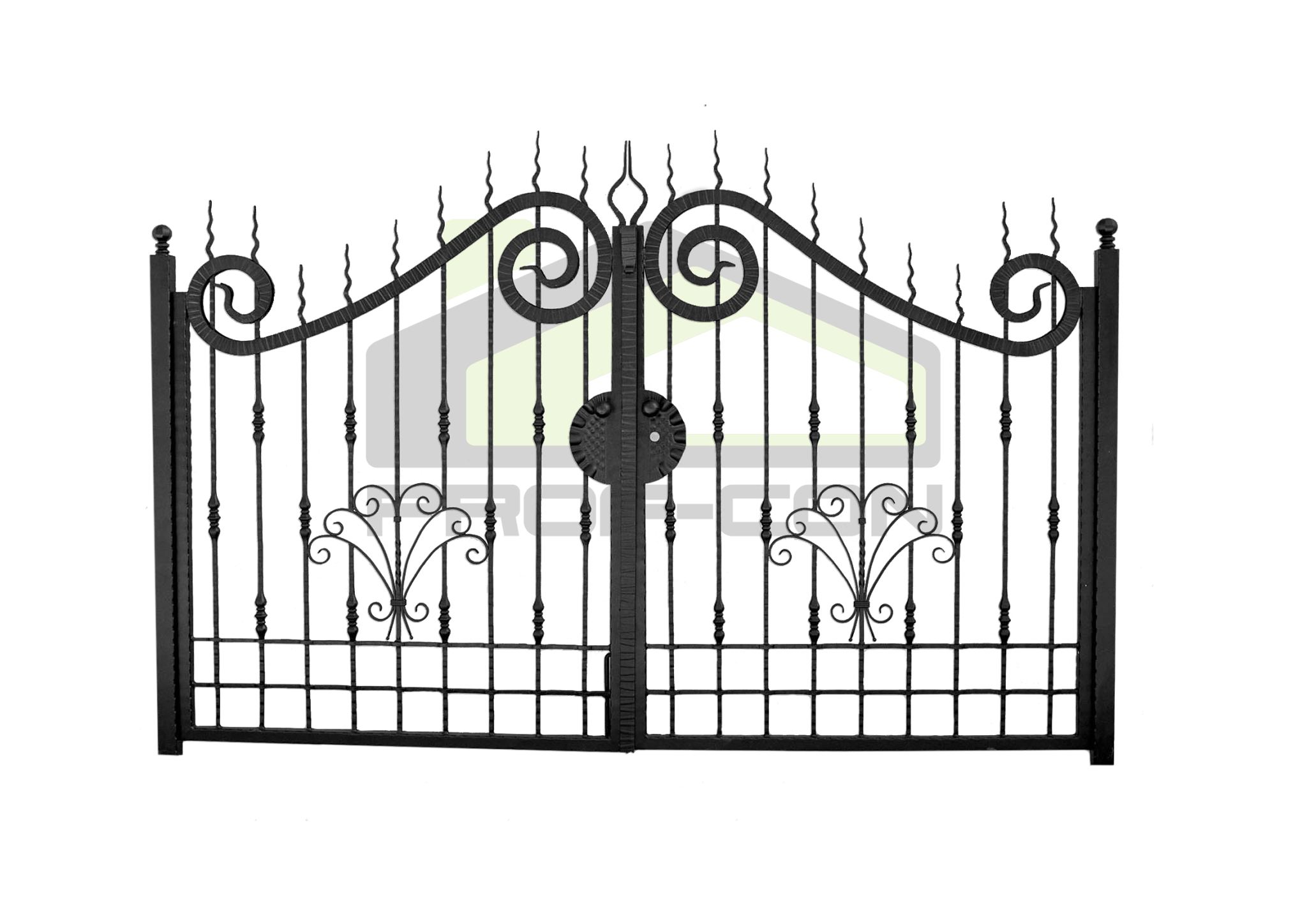Wrought iron gates PF 002