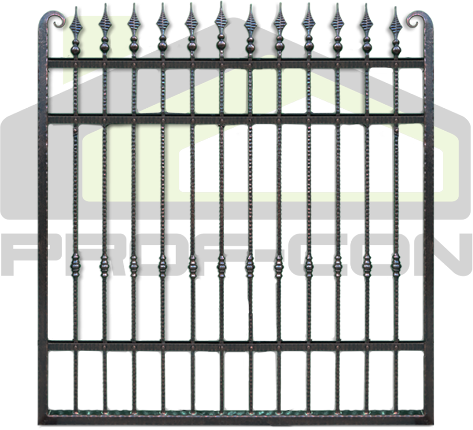 Porti si garduri fier forjat