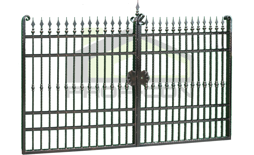 Wrought iron gate PF 004