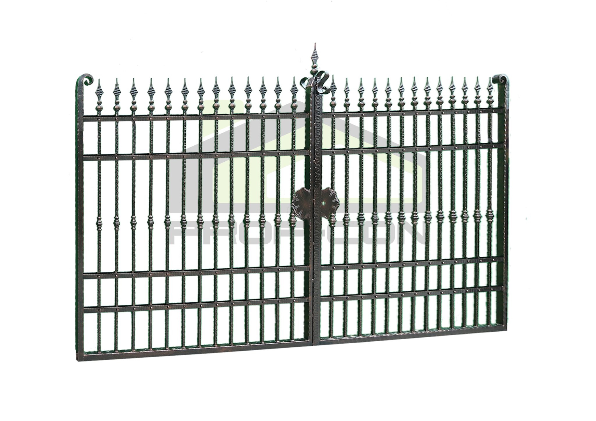 Wrought iron gates PF 004
