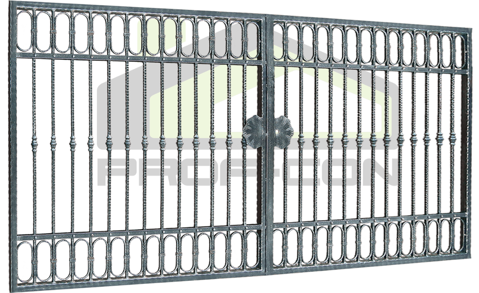 Wrought iron gate PF 005