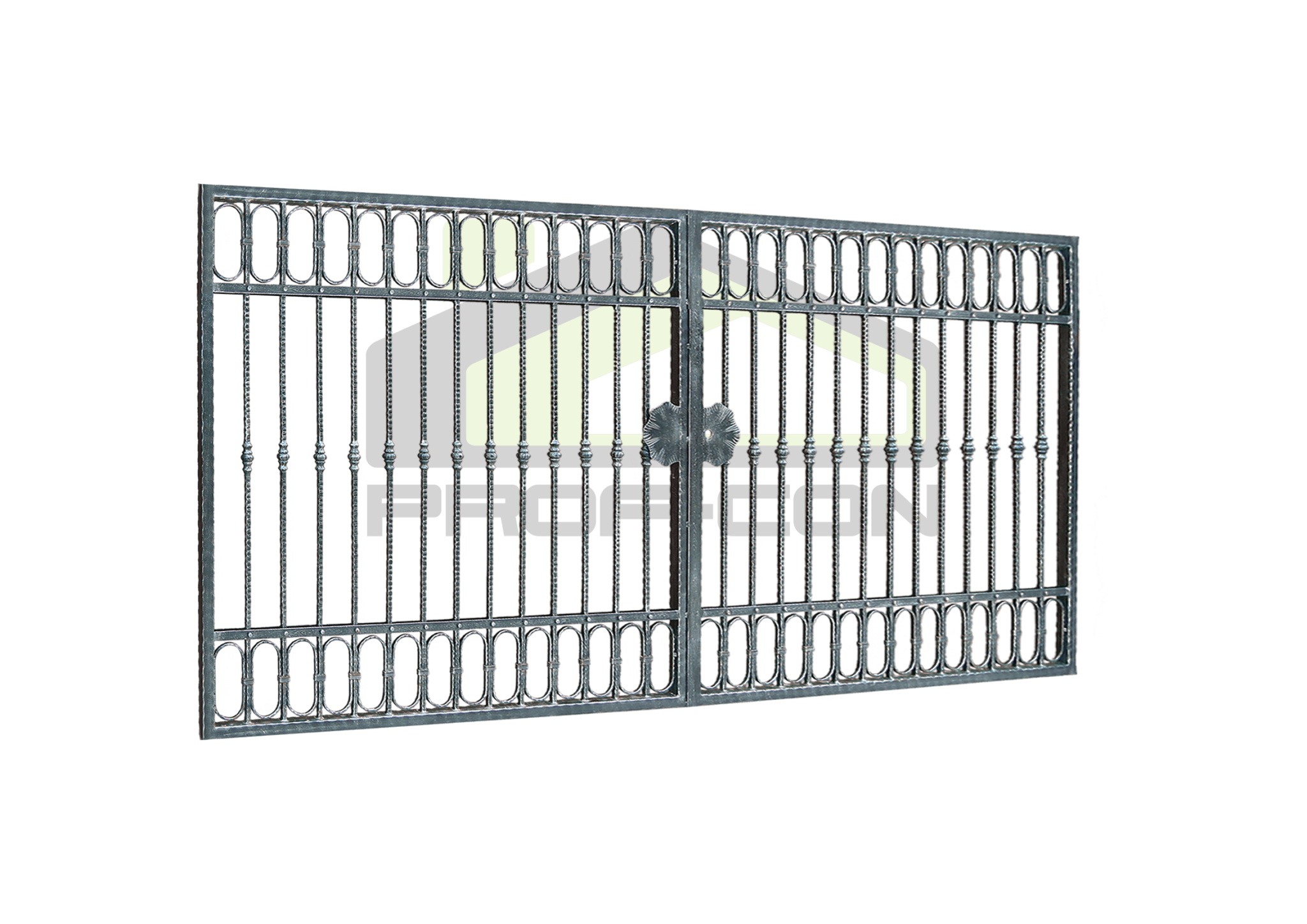 Wrought iron gates PF 005