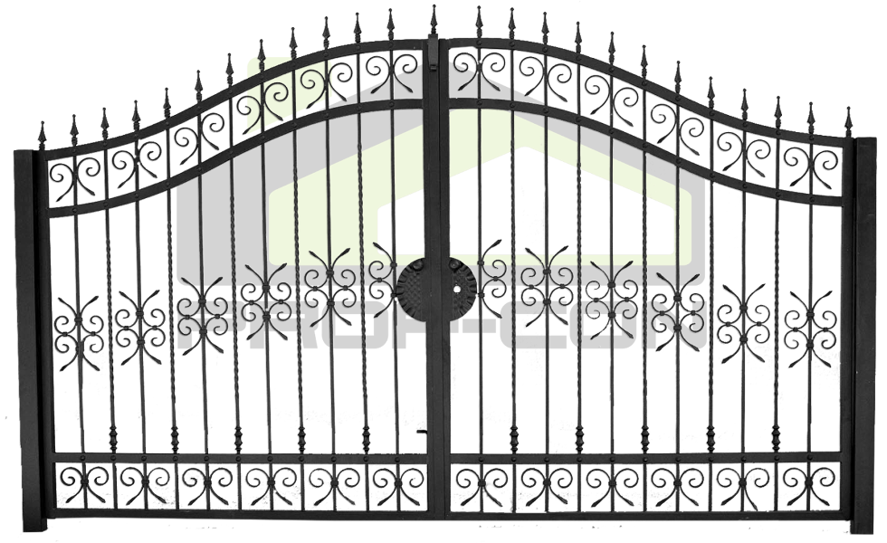 Wrought iron gate PF 007