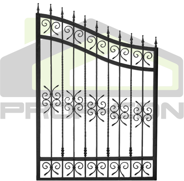 Wrought iron fence PF 007