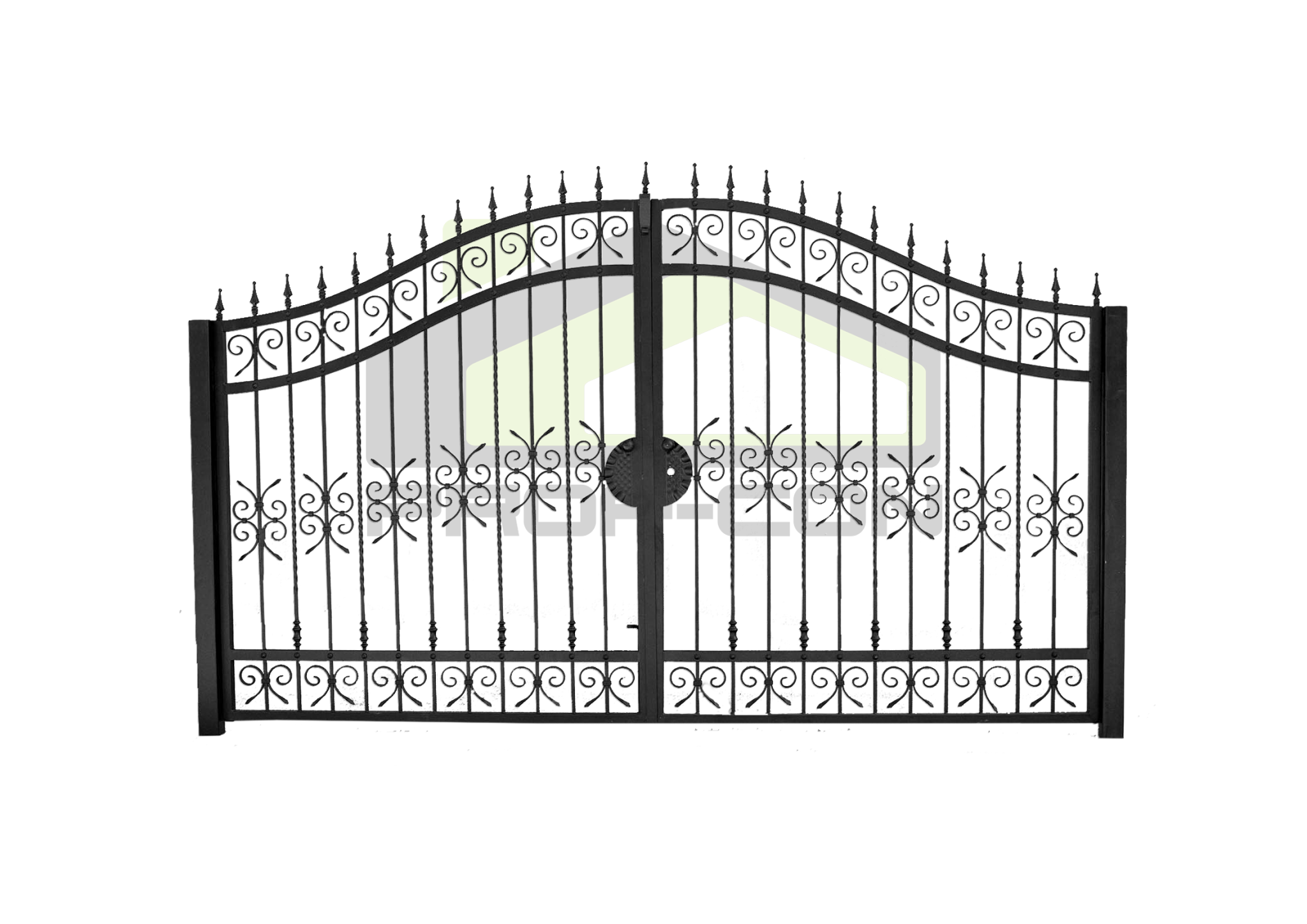 Wrought iron gates PF 007