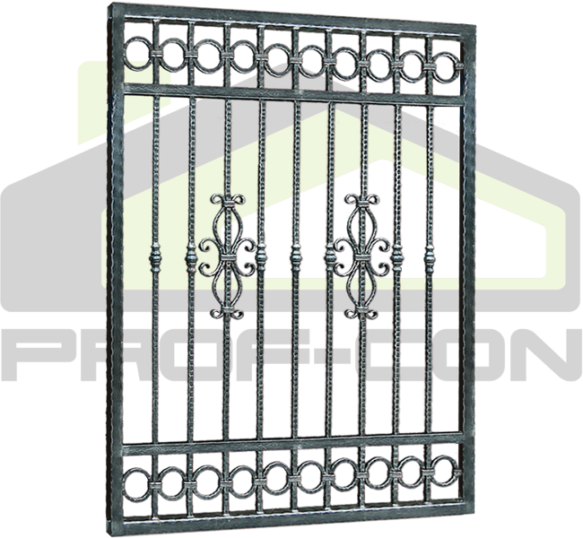 Wrought iron fence PF 008
