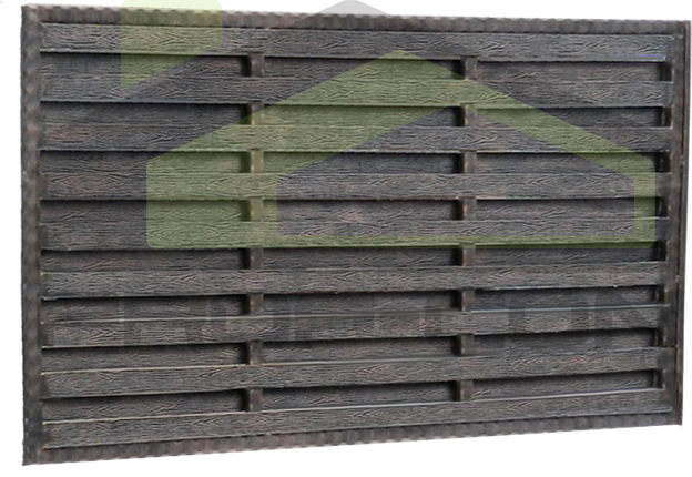 Moderne hekken en poorten