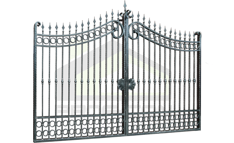 Wrought iron gates PF 009