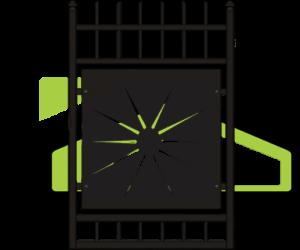 Modern fences PM 008