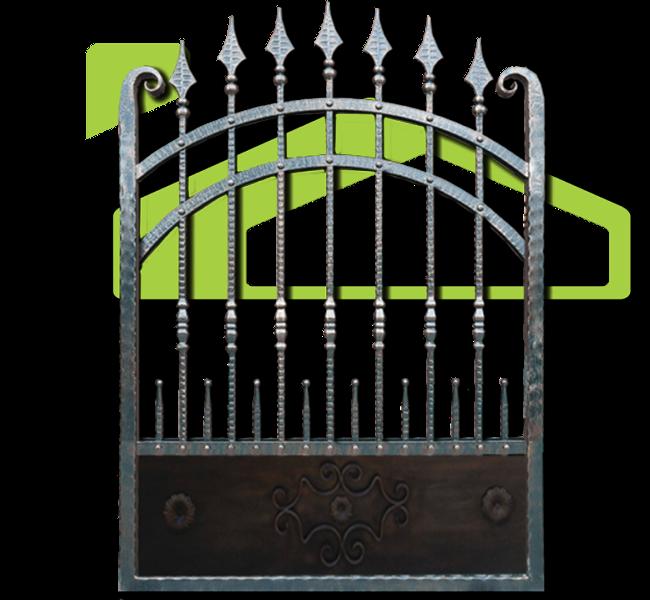 Gard fier forjat model PF 003
