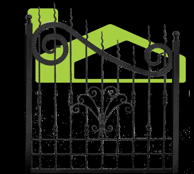 Gard fier forjat PF 002