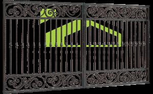 Smeedijzer poort PF 006