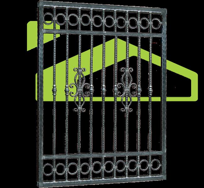 Garduri fier forjat model PF 008
